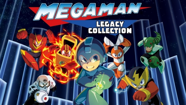 Mega Man Legacy Collection till Switch får releasedatum