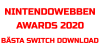 Nintendowebben Awards 2020 - Bästa Switch Download Software 2020