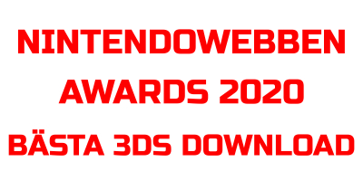 Nintendowebben Awards 2020 - Bästa 3DS Download Software 2020