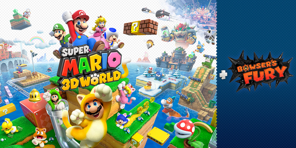 Idag släpps Super Mario 3D World + Bowser's Fury