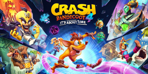 Crash Bandicoot™ 4: It's About Time kommer till Nintendo Switch