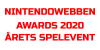 Nintendowebben Awards 2020 - Årets spelevent 2020